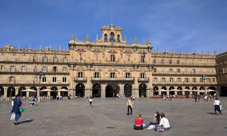 Dorfplatz von Salamanca