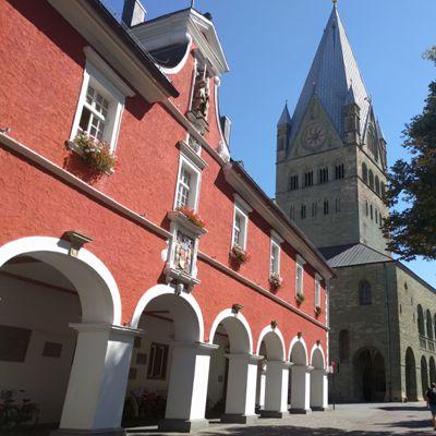 Eindrucksvolle Gebäude in Soest