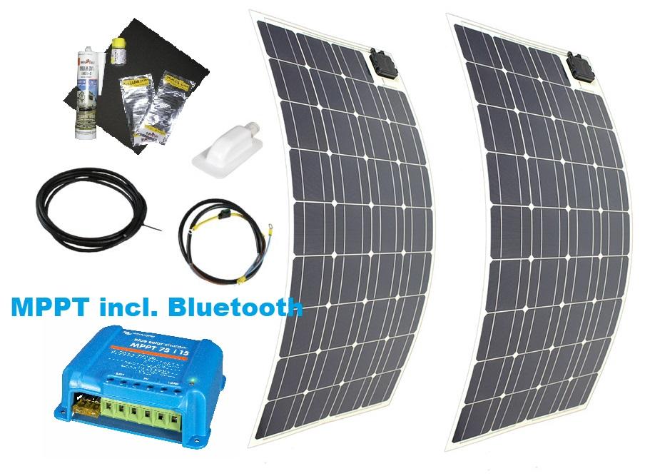 Mobile Solaranlage für Wohnmobil + Camping selber planen + einbauen