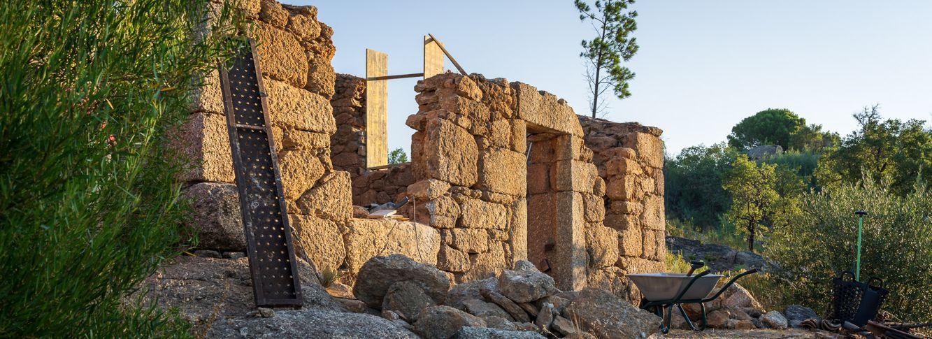 Quinta Prazera Sommerlager 2021 Teil 1: Ruine, Feuer und Inventur