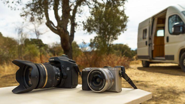 Vergleich Sony Alpha 6000 und Canon 50D