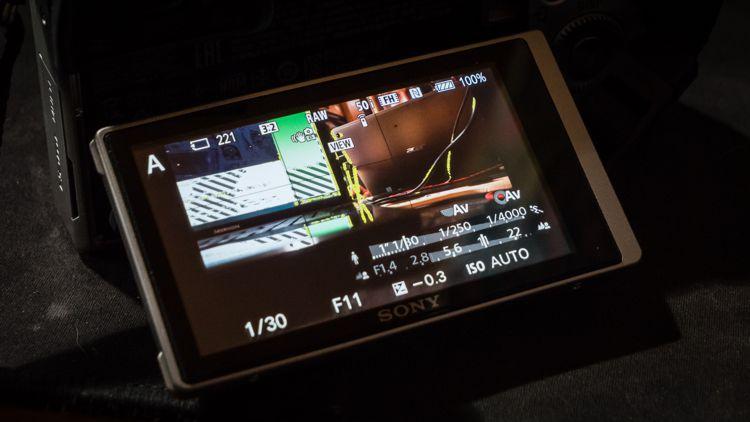 Sony A6000 Fokuspeaking