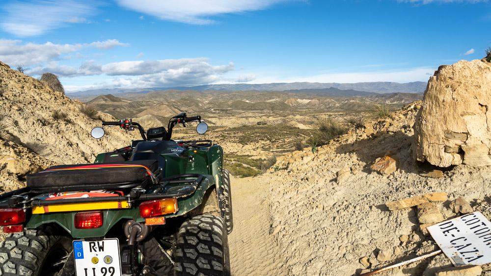 Allrad ATV, perfekt für Spanien