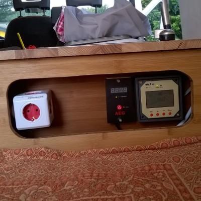 Camper Ausbau Ducato Strom