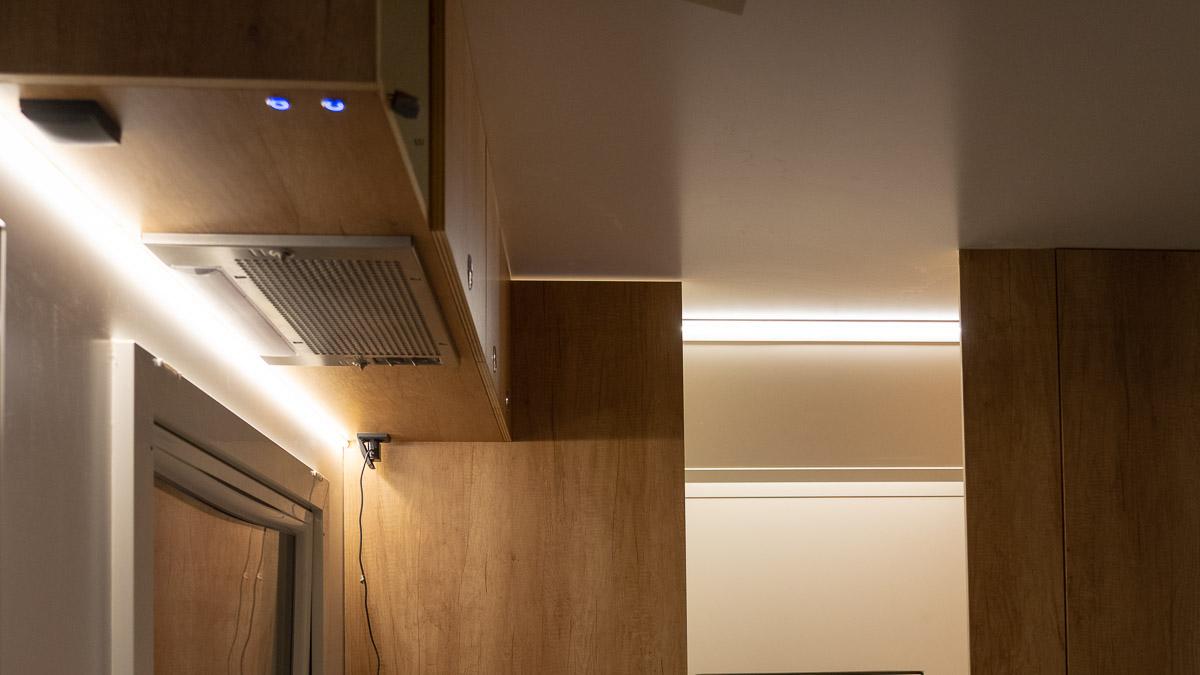 Strom im Wohnmobil: Licht stromsparend