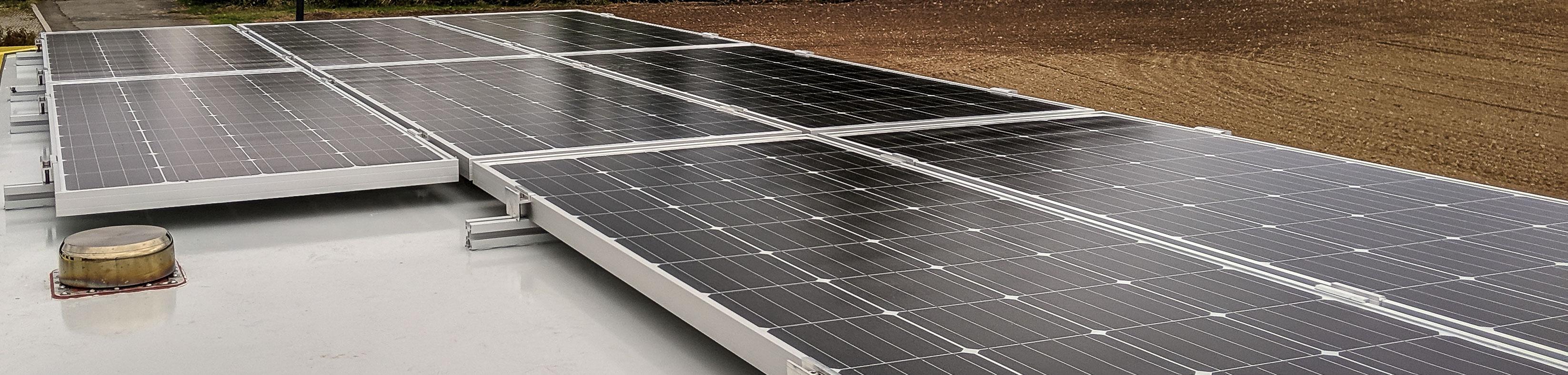 Stromversorgung im Wohnmobil, autark mit Solaranlage und Wohnmobilbatterie