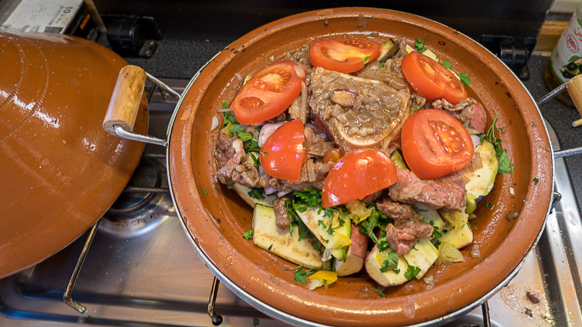 Tajine - marrokanisches Nationalgericht