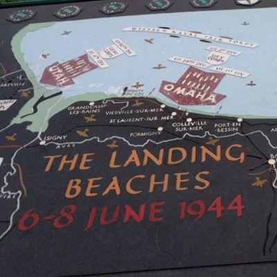 Wohnmobil Normandie Omaha Beach
