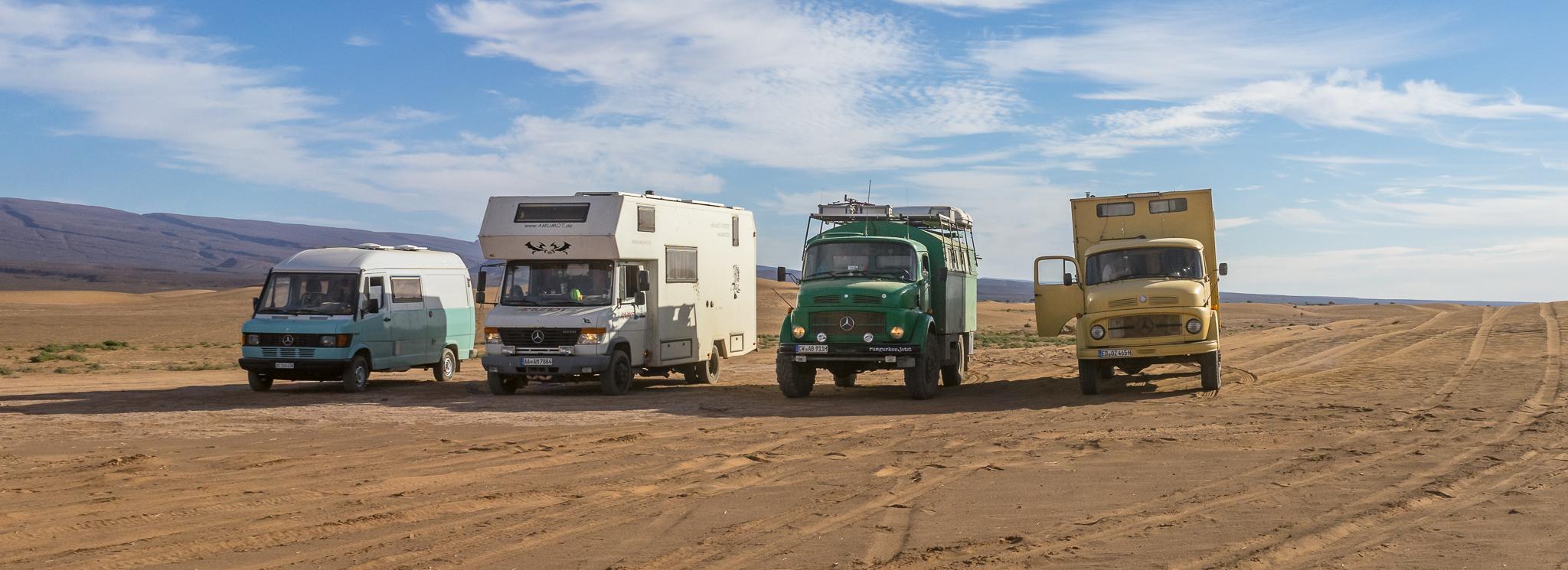 Marokko VI: Le Piste. The Squad. Die Rallye.