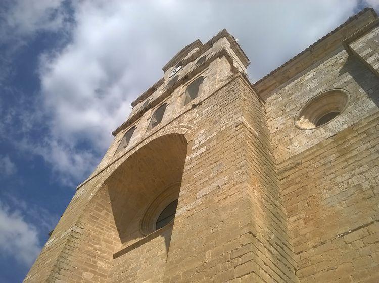 Übernachtungsstopp in Spanien - Die Kirche von Torquemada