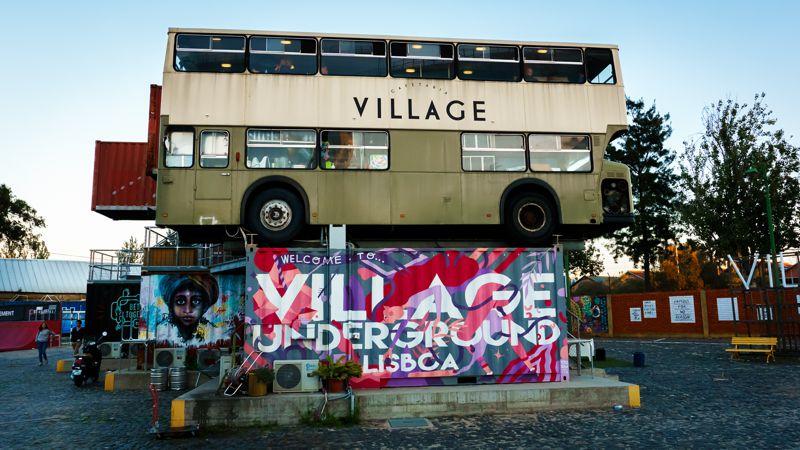 Village Underground - Geheimtipp für Lissabon