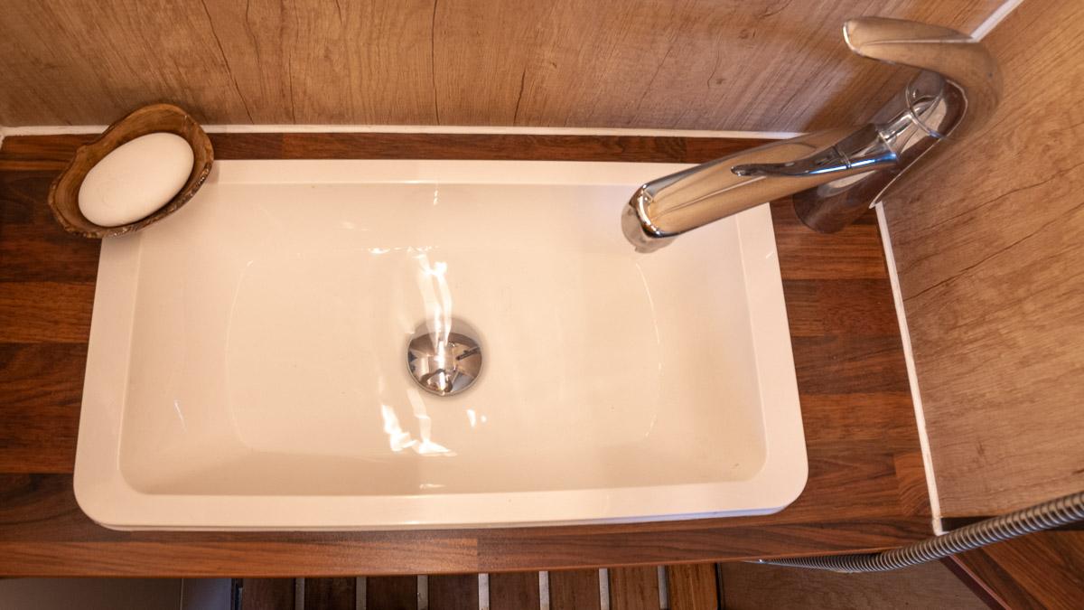 Waschbecken Wohnmobil Selbstausbau