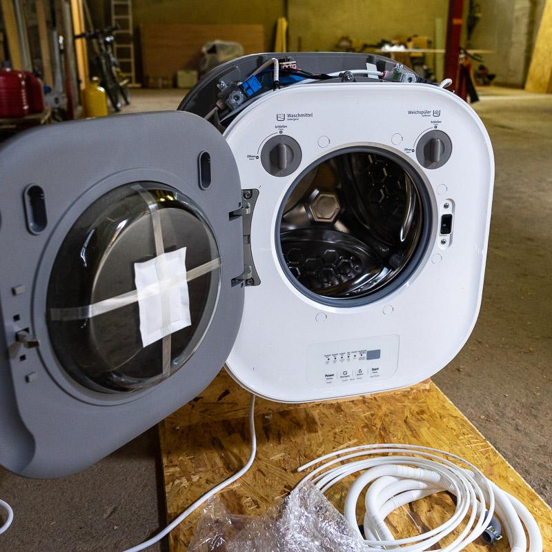 Waschmaschine im Wohnmobil
