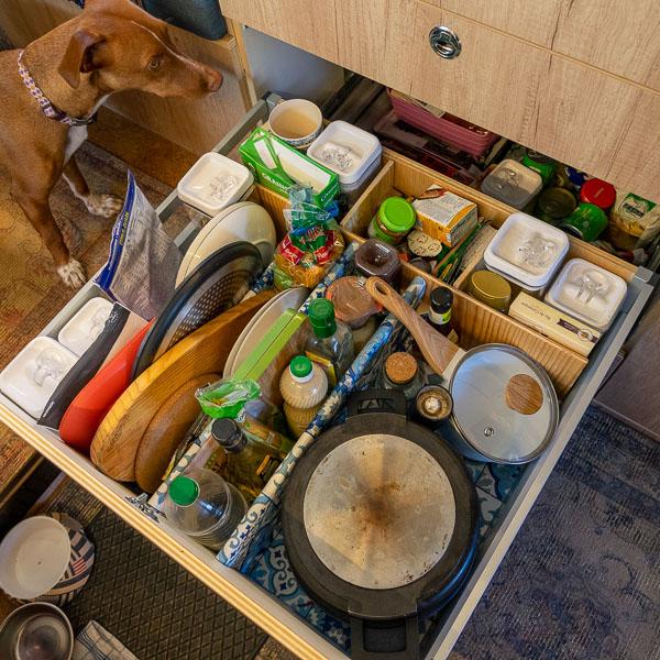 Schublade Küche Wohnmobil Selbstausbau