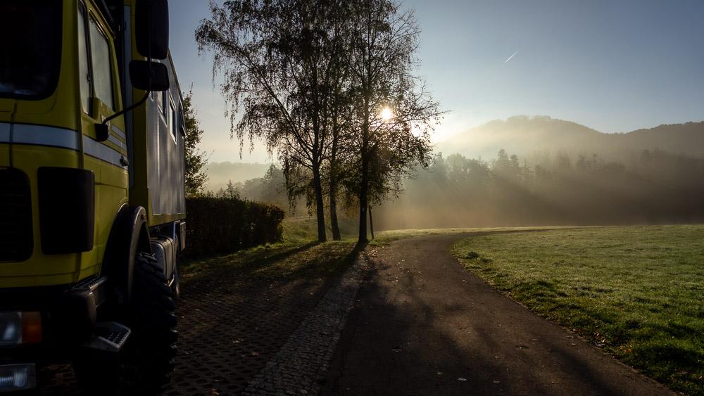 Wohnmobil Wildcamping Deutschland