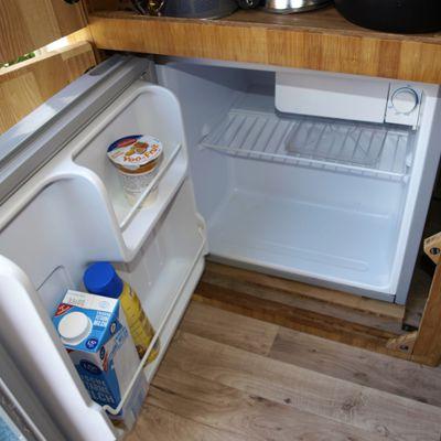 Wohnmobil ausbauen Kühlschrank