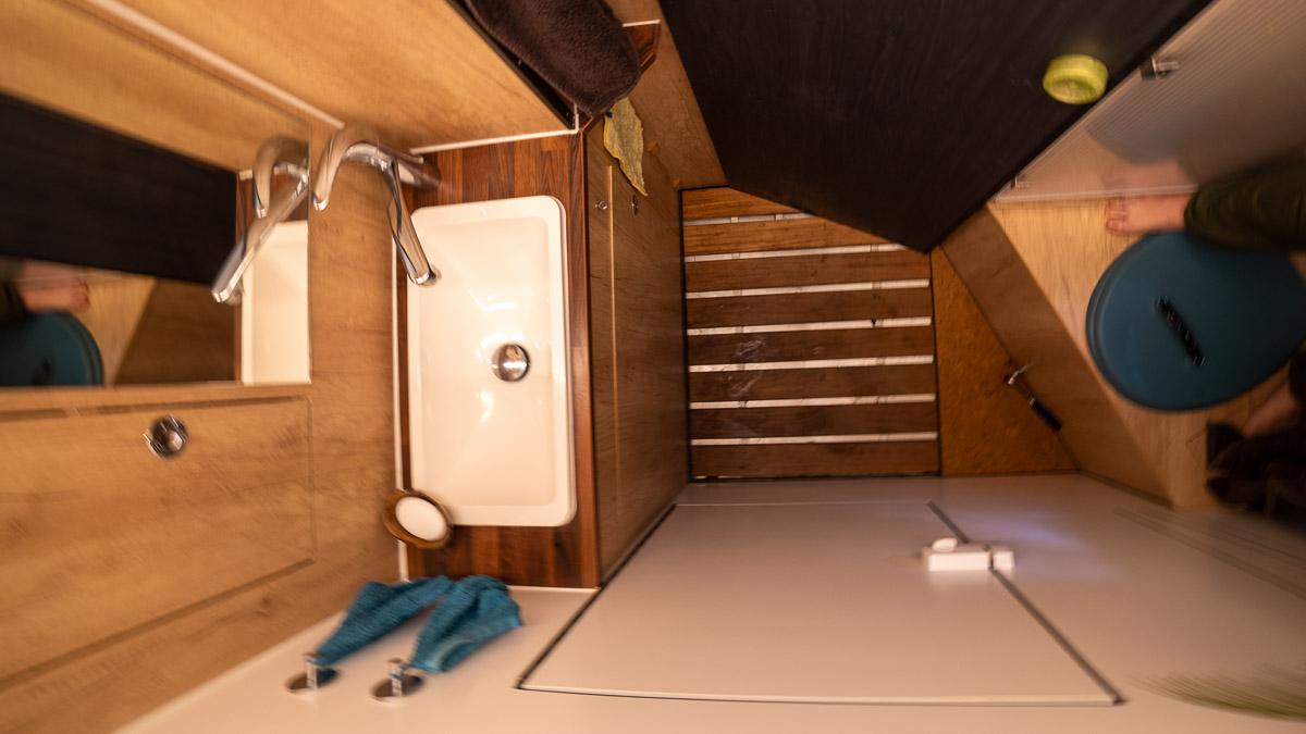 Wohnmobil Bad Grundriss Selbstausbau