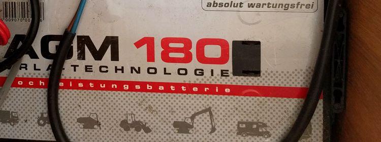 Die beste Batterie für's Wohnmobil ist … AGM, Lithium, Gel oder doch eine nasse Versorgungsbatterie?