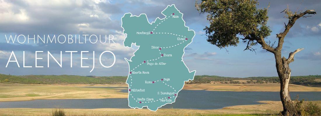 Wohnmobiltour und Reisebericht Alentejo, Portugal