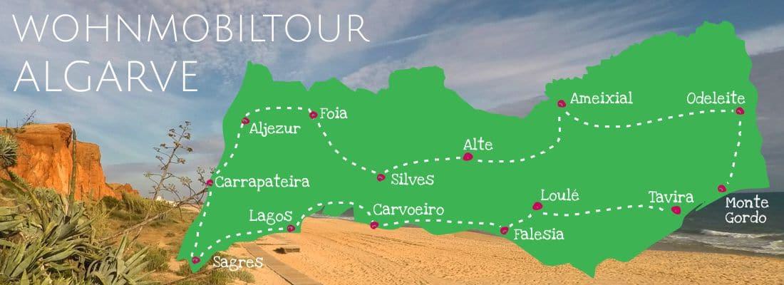 Wohnmobiltour Algarve | mit dem Wohnmobil durch Portugal Teil I
