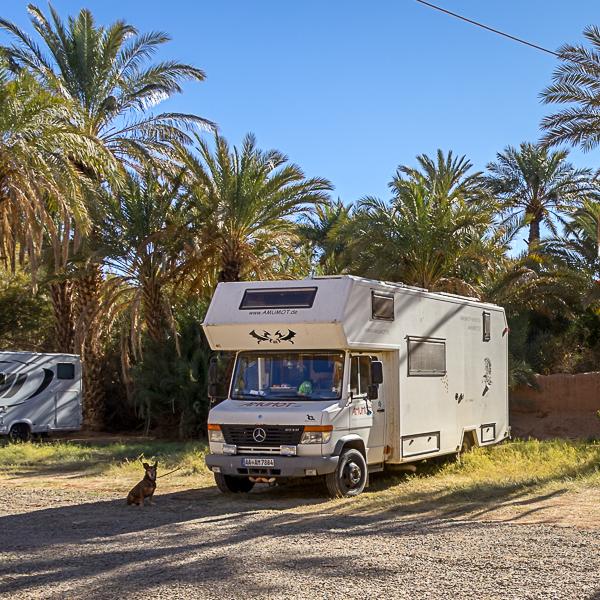 Wohnmobilversicherung Marokko