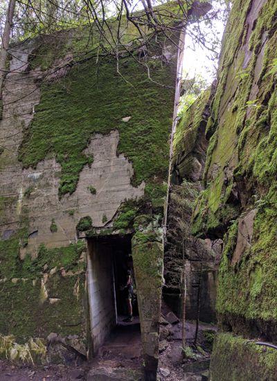 Wolfsschanze - Bunkerreste