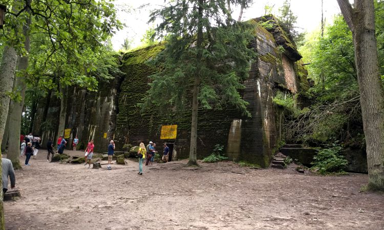 Hilter's privater Bunker